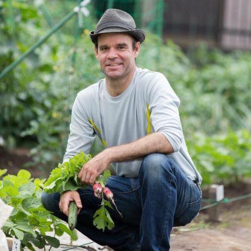 jon walsh urban farmer in Tokyo
