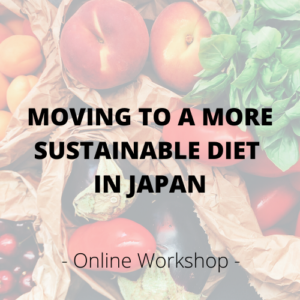 workshop moving to a more sustainable diet in Japan